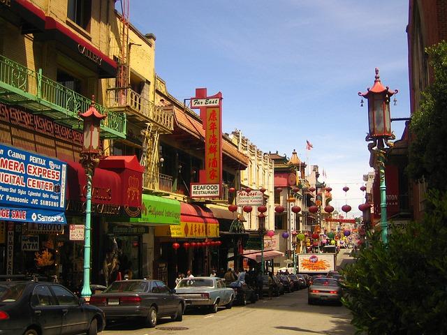 Chińska dzielnica w San Francisco