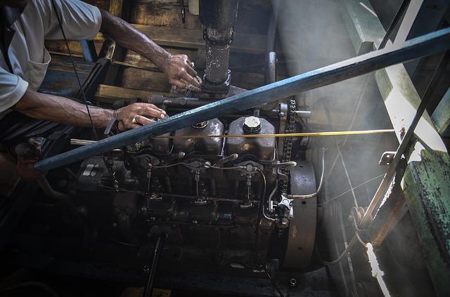 Praca silnika elektrycznego