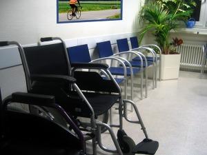 Wózki w szpitalu