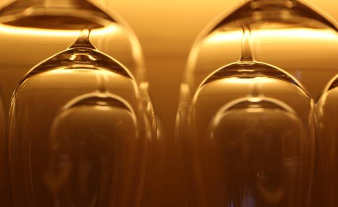 Akcesoria szklane kieliszki