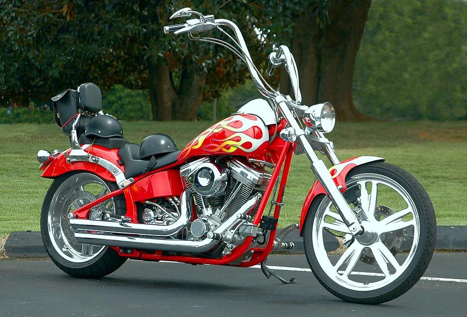 chopper motocykl